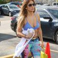 Jennifer Lopez arrive à sa salle de gym préférée à Miami le 24 janvier 2019.