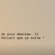 Vaimalama Chaves (Miss France 2019) ne veut plus qu'on écorche son prénom, le 25 janvier 2019.