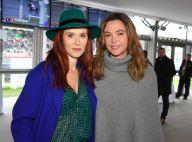 Sandrine Quétier, Audrey Fleurot... Ravissantes au Grand Prix d'Amérique