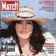 Isabelle Adjani en couverture de Paris Match