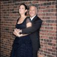 Dustin Hoffman et sa femme Lisa Gottsegen hier soir très amoureux à New York             <