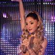 """Ariana Grande fait son entrée au musée de cire """"Madame Tussauds"""" à Berlin, le 31 janvier 2019."""