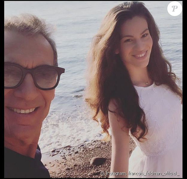 François Feldman et sa fille Joy sur Instagram.
