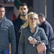 Britney Spears : Un burger avec son chéri avant de disparaître