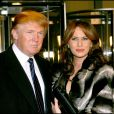 Donald Trump et Melania Trump à New York, le 11 mai 2005.