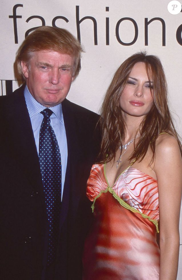 Donald Trump et Melania Trump à New York, le le 20 octobre 2000. © Sonia Moskowitz/Globe Photos via ZUMA Wire/Bestimage