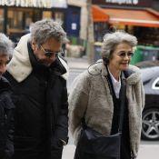 Obsèques d'Henry Chapier : Charlotte Rampling et son ex Jean-Michel Jarre réunis