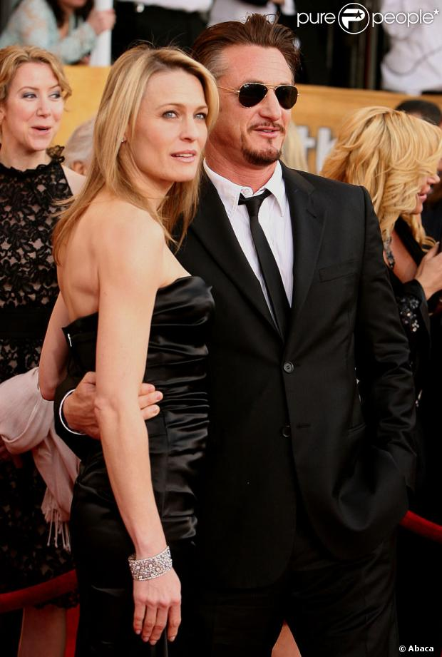Sean Penn et Robin Wright... des amants terribles