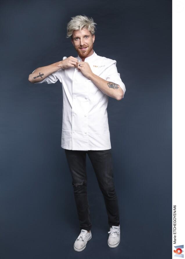 """Paul Delrez - Candidat de """"Top Chef 2019""""."""