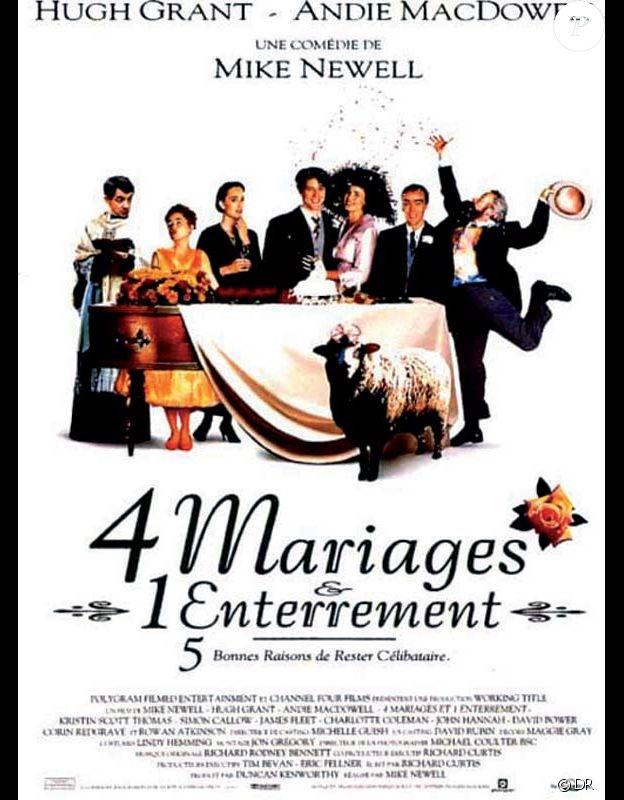 Affiche du film Quatre mariages et un enterrement (1994)