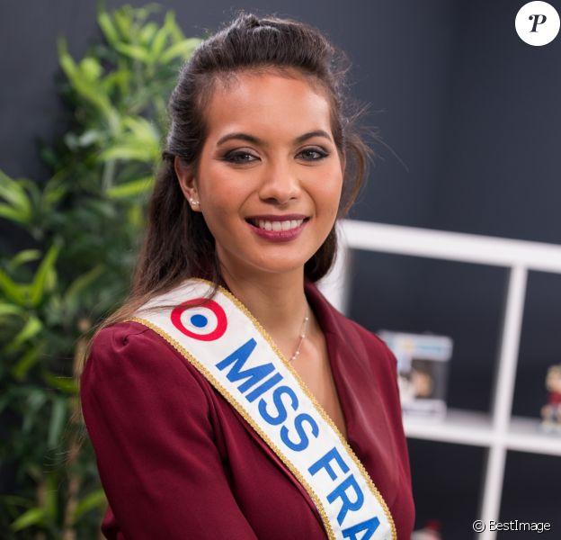 Exclusif - Rendez-vous avec Vaimalama Chaves, Miss France 2019 dans les locaux de Webedia pour une Interview pour Purepeople à Levallois-Perret le 30 janvier 2019.