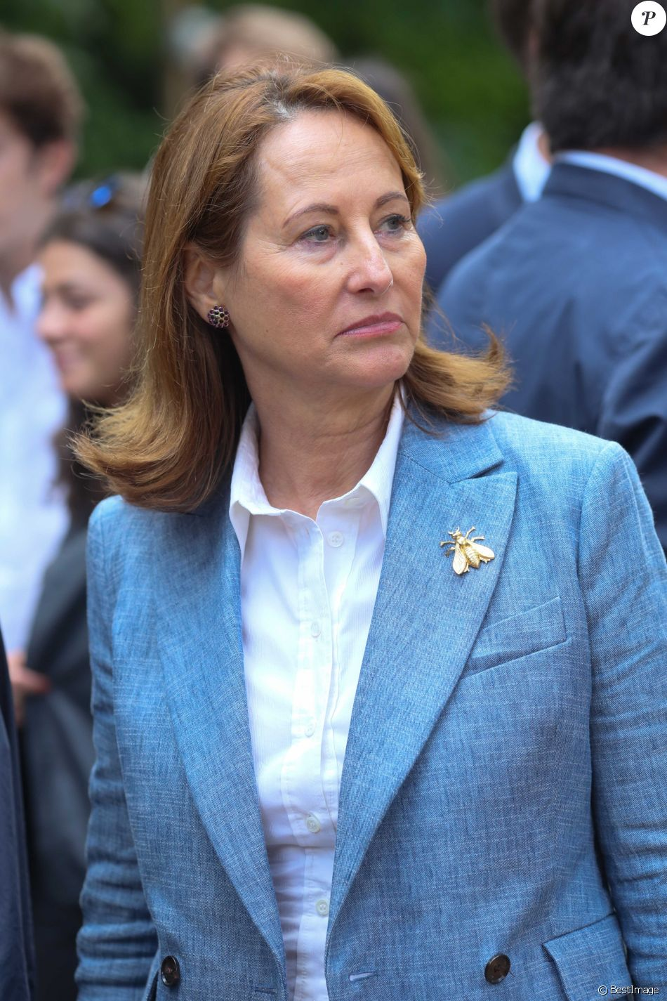 """Ségolène Royal - Inauguration de la """"Fondation Goodplanet - Domaine de Longchamp"""" à Paris, le 13 mai 2017. © CVS/Bestimage"""