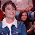 """Alain-Fabien Delon sur le plateau de """"Quotidien"""", le 5 février 2019."""