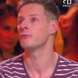 """Matthieu Delormeau en larmes dans """"TPMP"""", 13 février 2019, sur C8"""