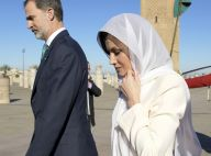 Letizia d'Espagne au Maroc: Voilée et recueillie puis complice avec Lalla Meryem