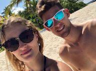 Kristina Mladenovic et Dominic Thiem : Parenthèse romantique en maillot de bain