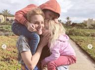 """Élodie Gossuin, maman complice avec ses jumeaux au Maroc : """"Le bonheur"""""""