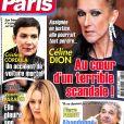 """Couverture du magazine """"Ici Paris"""", numéro du 20 février 2019."""