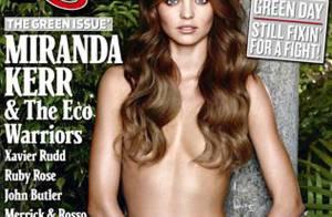 Miranda Kerr est complètement nue... attachée à un arbre ! Regardez !