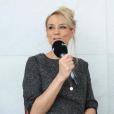 """Elodie Gossuin, ex-Miss France et animatrice sur 6ter, se livre en exclusivité au micro de """"Purepeople.com""""."""