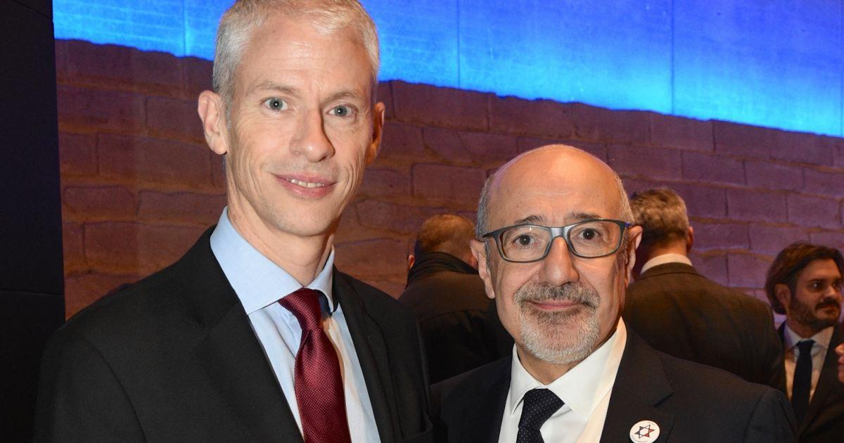 Franck Riester et moi