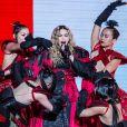 Concert de Madonna à l'AccorHotels Arena (Bercy) à Paris, le 9 décembre 2015.