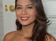 Vaimalama Chaves rayonnante face à une actrice de Plus belle la vie