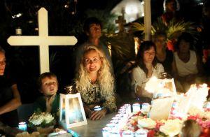 Laeticia Hallyday très bien entourée pour la fin de ses vacances à Saint-Barth'