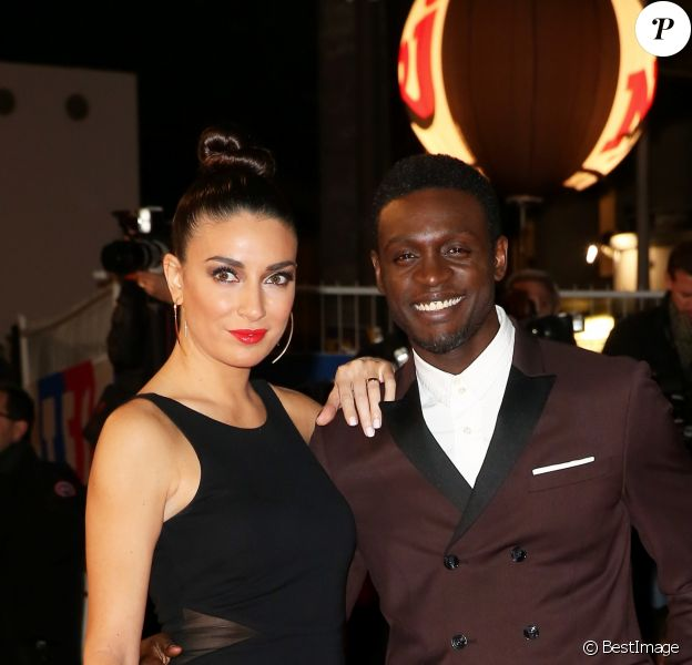 Corneille et sa femme Sofia de Medeiros Sofia de Medeiros - 16e édition des NRJ Music Awards à Cannes. Le 13 décembre 2014.