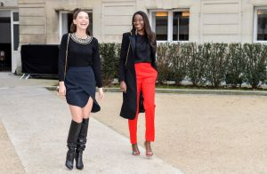 Fashion Week : Karidja Touré et Joséphine Japy, voisines stylées au premier rang