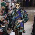Défilé de mode Elie Saab collection prêt-à-porter Automne-Hiver lors de la fashion week à Paris, le 2 mars 2019.