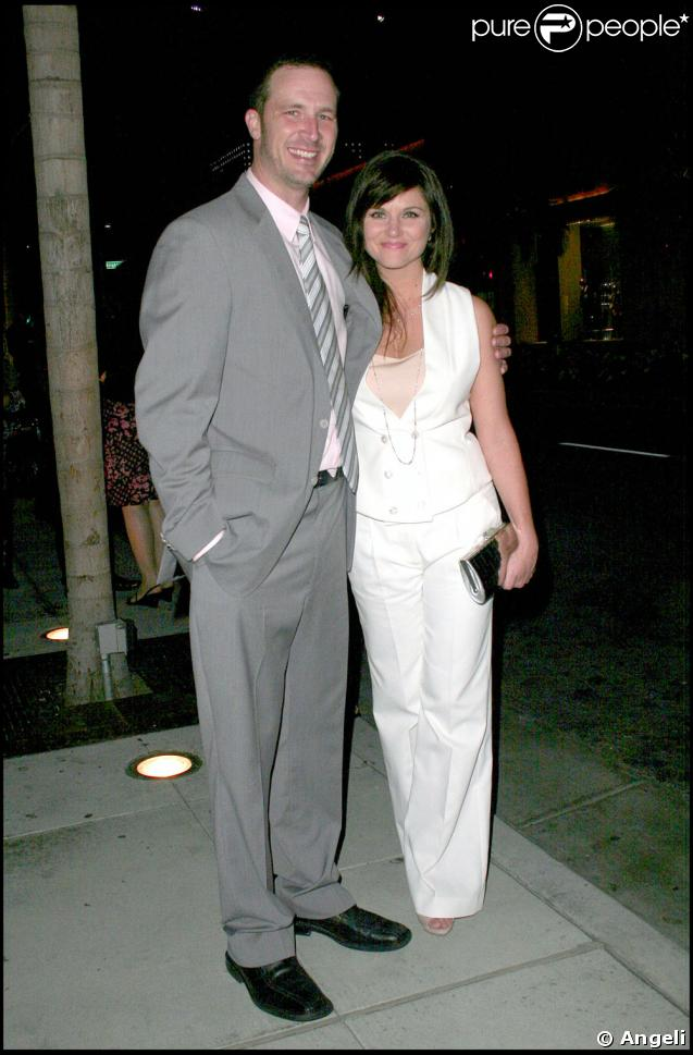 Tiffani Thiessen et son mari son mari Brady Smith à Beverly Hills