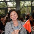 """Exclusif - Jeanne d'Hauteserre, maire du 8e arrondissement de Paris - Déjeuner """"Chinese Business Club"""" au Pavillon Gabriel à Paris, à l'occasion de la journée des droits des femmes, le 8 mars 2019 © Rachid Bellak / Bestimage"""