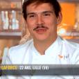"""Damien dans """"Top Chef"""" saison 10, le 13 mars 2019 sur M6."""