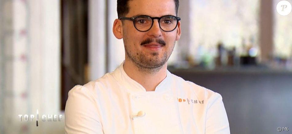 "Camille lors de la grande finale de ""Top Chef 2018"" (M6) mercredi 25 avril 2018."