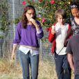 Natalie Portman en plein tournage de Hesher