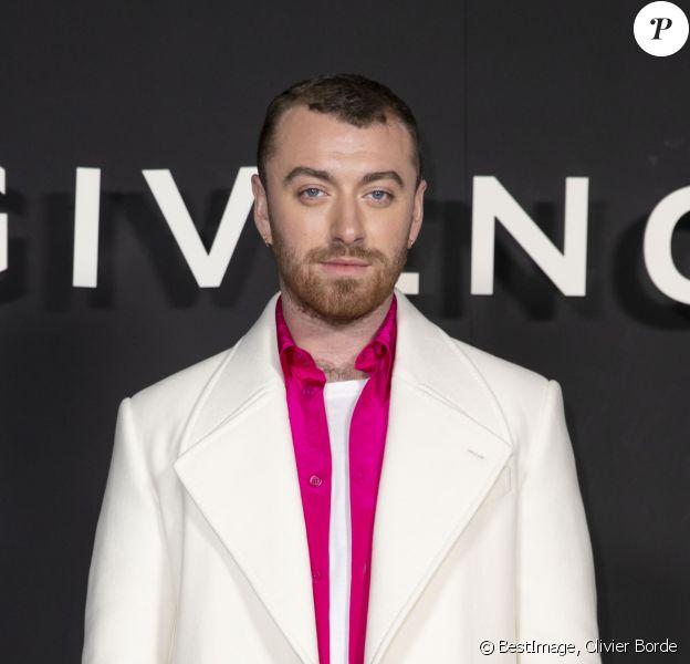 Sam Smith au photocall du défilé de mode Givenchy collection prêt-à-porter Automne-Hiver 2019/2020 lors de la fashion week à Paris, France, le 3 mars 2019. © Olivier Borde/Bestimage