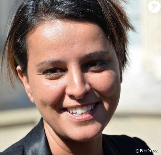 Najat Vallaud-Belkacem le 10 mai 2017 à Paris.