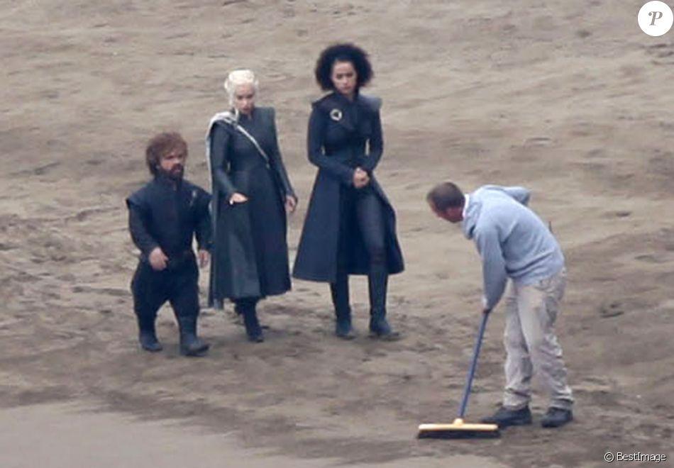 Les acteurs Emilia Clarke, Kit Harington, Peter Dinklage ...