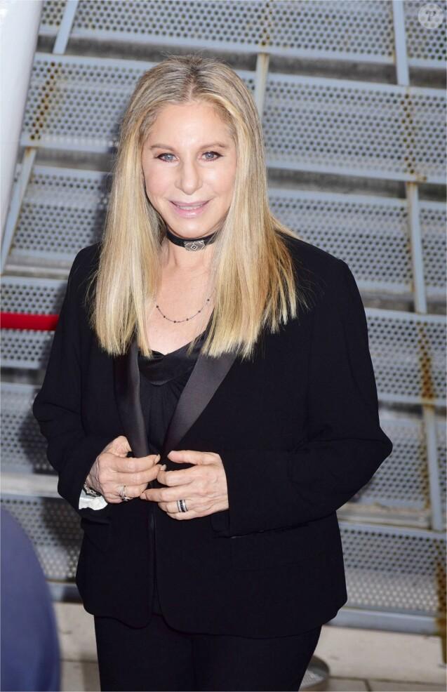 "Barbra Streisand sur le tapis rouge du film "" StoryTellers "" lors du Festival du Film de Tribeca à New York Le 29 avril 2017"
