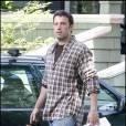 Ben Affleck sur le tournage de The Company Men, le 3 juin 2009