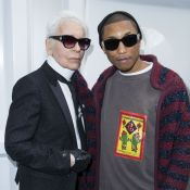 Karl Lagerfeld : Avant sa mort, il avait aidé Pharrell Williams