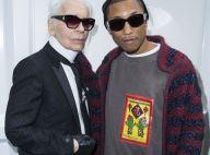 Karl Lagerfeld : Avant sa mort, il avait aidé Pharrell Williams
