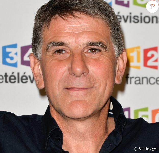 Tex lors du photocall de la présentation de la nouvelle dynamique 2017-2018 de France Télévisions. Paris, le 5 juillet 2017. © Guirec Coadic/Bestimage