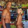 Yannick Noah et sa femme Isabelle Camus posent en Jamaïque. Instagram, le 26 mars 2019.