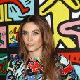 """Paris Jackson lors de la soirée de lancement de la collection """"Keith Haring x Alice + Olivia"""" à New York, le 14 novembre 2018."""
