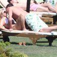Geri Halliwell et son boyfriend Henry Beckwith en vacances en Sardaigne