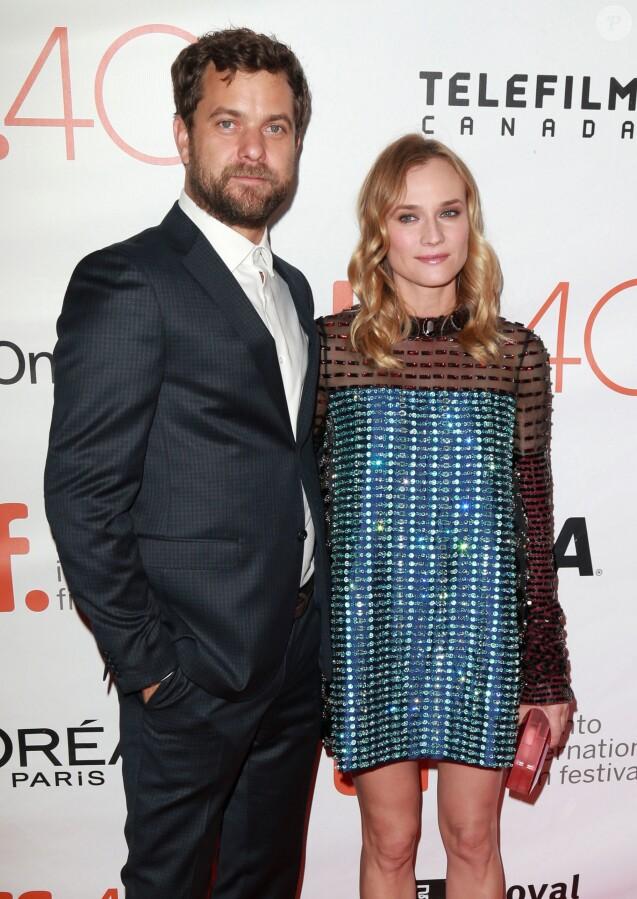 Diane Kruger et son compagnon Joshua Jackson à la première de 'Disorder' lors du Festival international du film 2015 à Toronto, le 17 septembre 2015