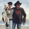 Mickey Rourke a rendu hommage à son ami Johnny Hallyday sur Instagram, ce 5 mai 2018. L'occasion pour Laeticia Hallyday de témoigner de sa peine en commentaire.
