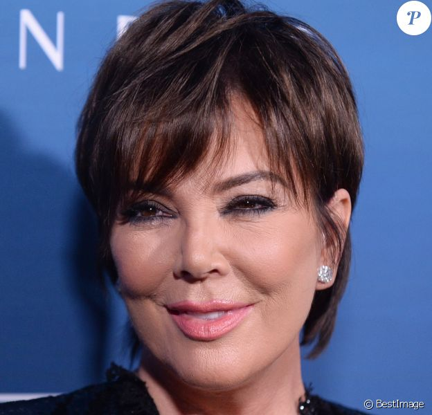 "Kris Jenner lors du photocall de la soirée ""The Art Of Elysium"" à Los Angeles le 5 janvier 2019."